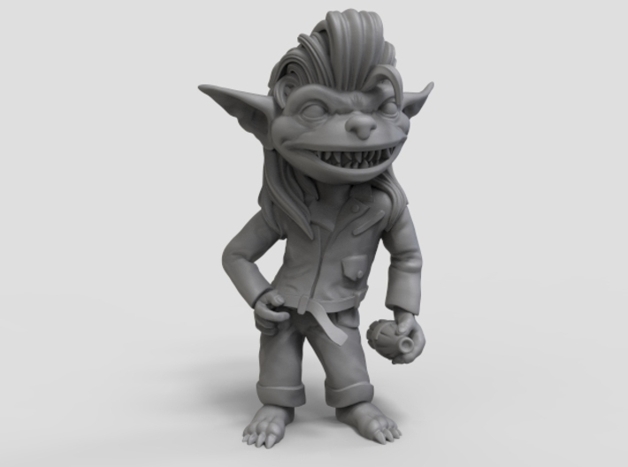 Greaser Goblin 3d printed