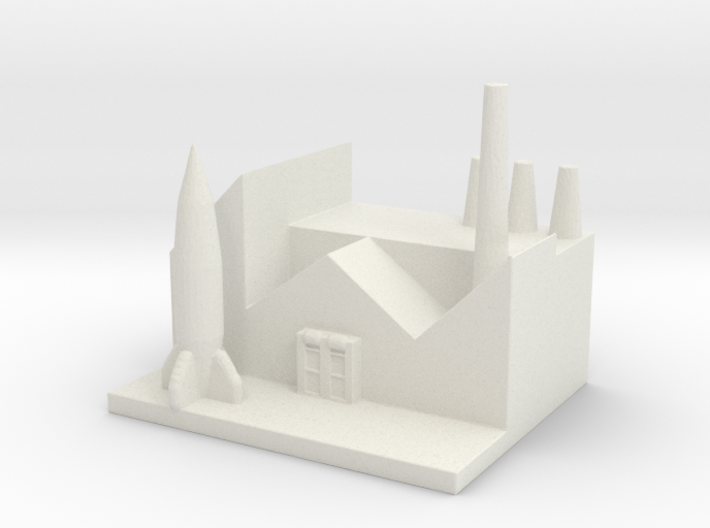 Rocket Research Center 3d printed