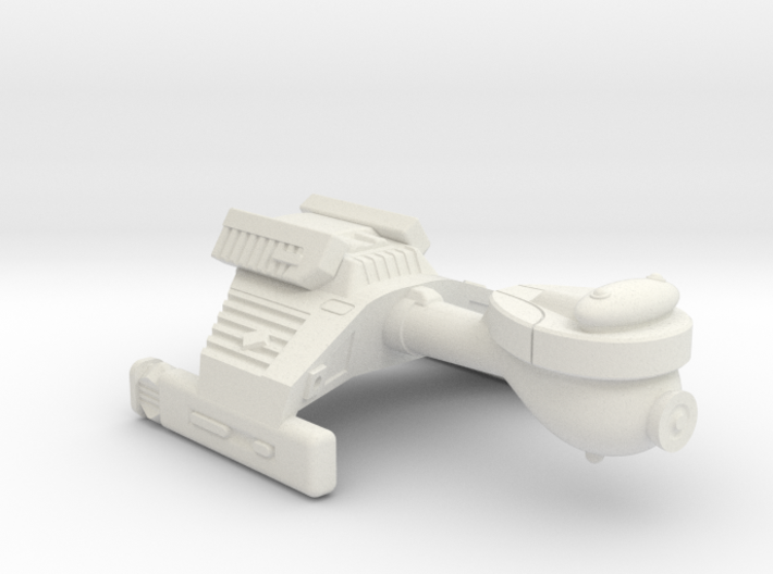 3788 Scale Klingon G2 Police Cutter WEM 3d printed