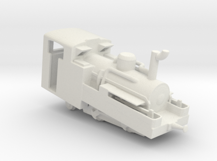 Brienz Rothorn Bahn h 2/3 no1  3d printed
