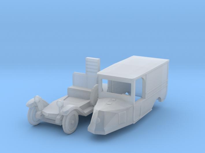 Renault OS Fourgon de livraison (1/144) 3d printed