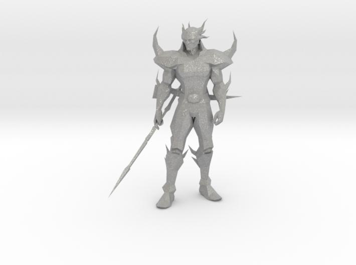 Dark Cecil from Final Fantasy IV 3d printed