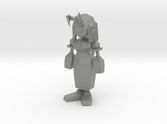 Aerith from Final Fantasy VII 3d printed