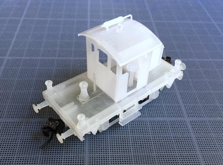 Locotracteur Berliet - Switcher - HO - 1/87 3d printed
