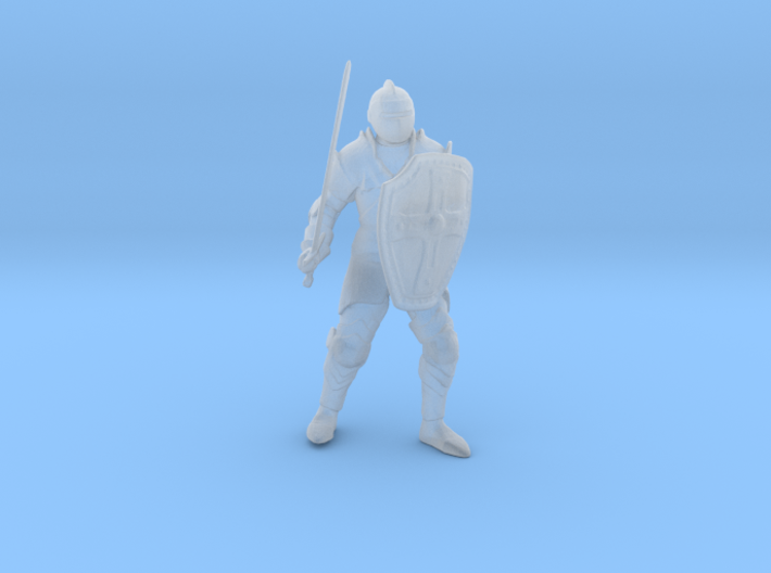 Knight Errant Standing 3d printed