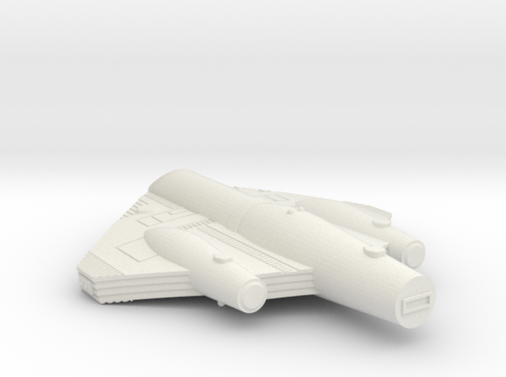 3788 Scale ISC Light Cruiser (CL) SRZ 3d printed