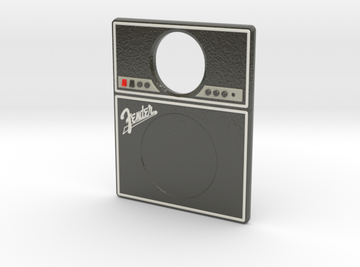 Pinball Plunger Plate - Sub & Amp - Fender 3d printed