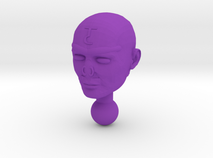 Time Traveler Acroyear Unmasked Head 3d printed