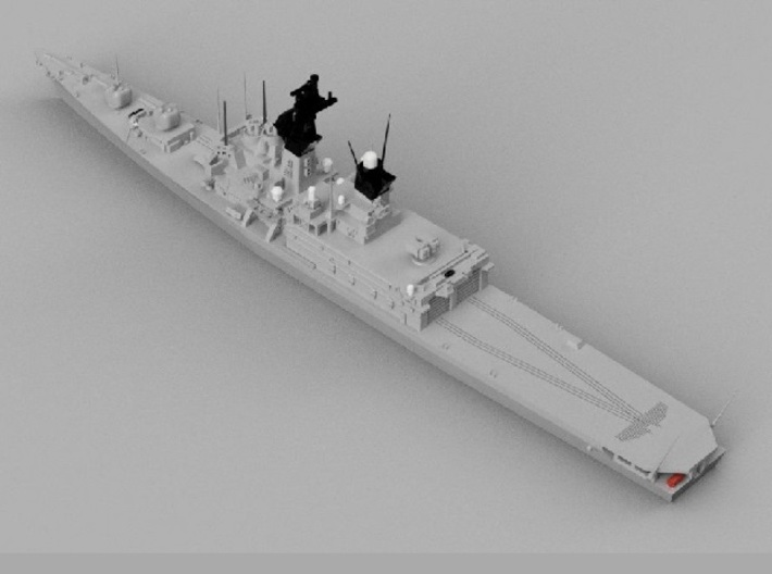 1/1800 JS Shirane-class Helicopter destroyer 3d printed
