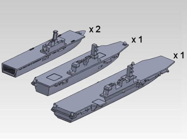 60SJ01 JMSDF maritime power projection group (4 sh 3d printed