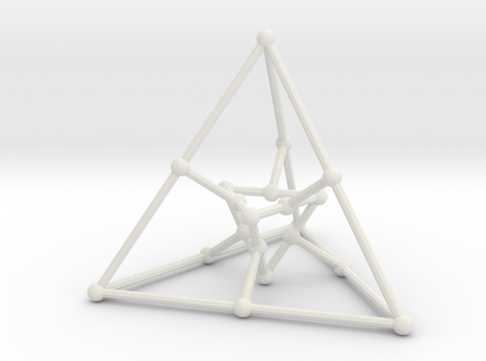 Desargues graph (v. 1) 3d printed
