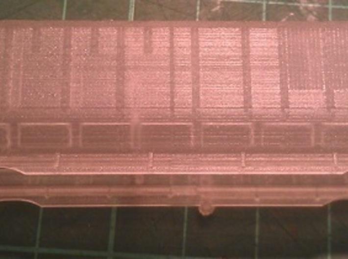 UP Water Tenders N Scale 1:160 Jim & Joe 3d printed Side View - Before Cleaning