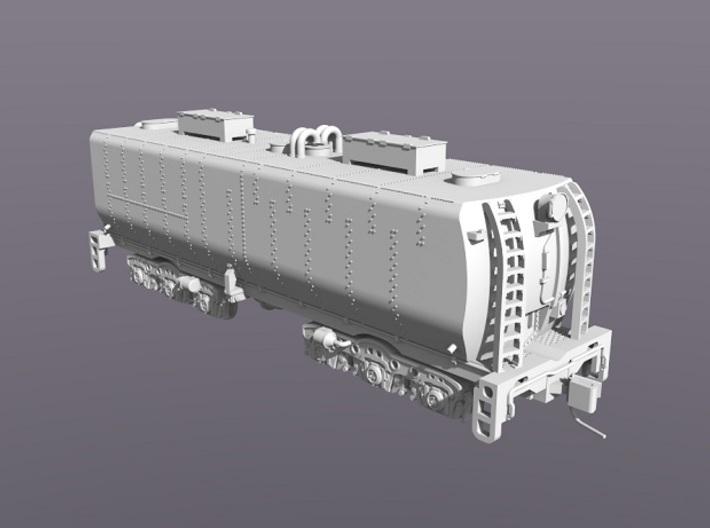 UP Water Tender N Scale 1:160 Joe Jordan 3d printed Curvered End