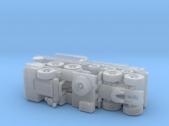 HEMTT M983 with M870A1 Semitrailer 1/200 3d printed