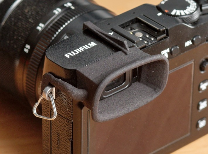 Attachable Eyecup for Fuji X-E3 3d printed