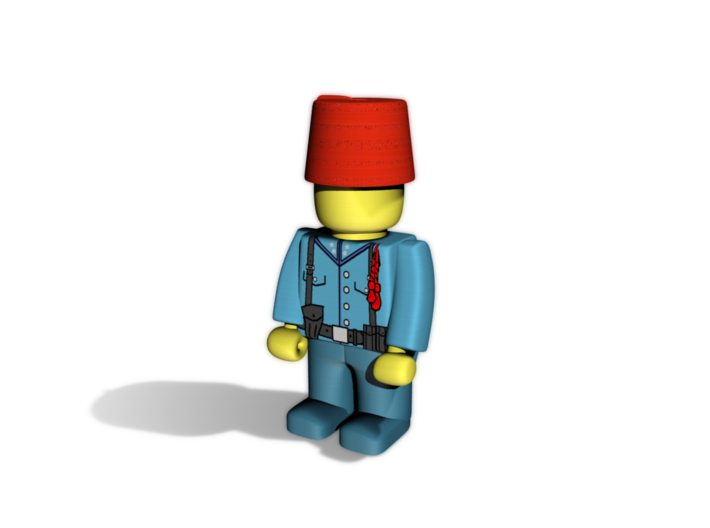 5 x Fez 3d printed Example usage