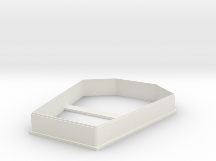 Tombstone cookie cutter for professional 3d printed