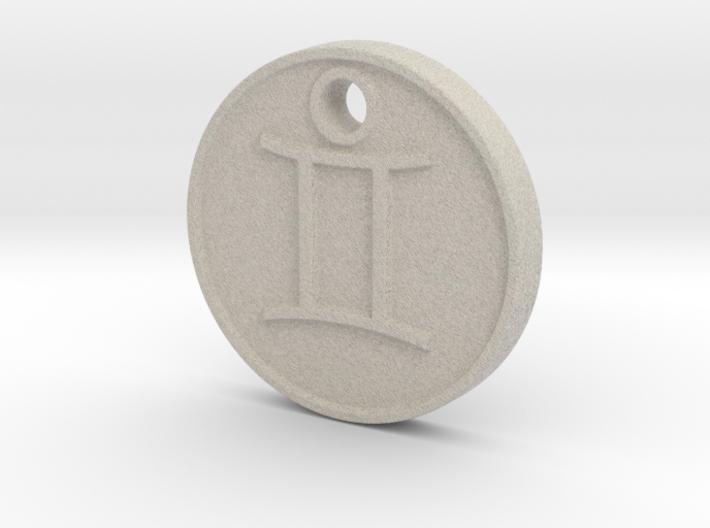 Gemini Aromatherapy Pendant 3d printed