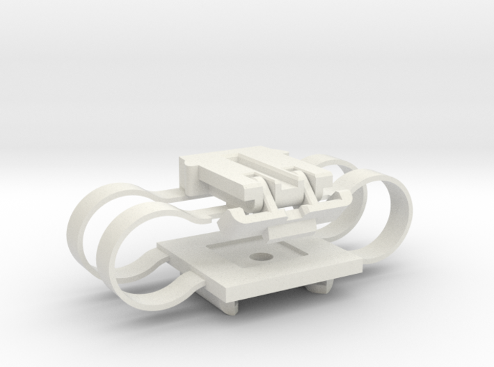 Stabilizer With Integrated Springs 3d printed