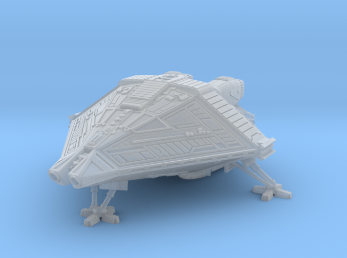 scifi Narciss shuttle lander 3d printed