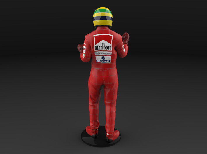Ayrton 1/18 Celebrating Figure 1988 3d printed