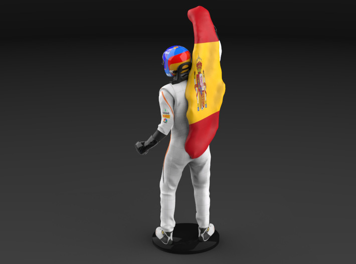 Fernando 1/12 Celebrating Figure 2018 3d printed