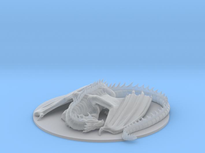Sleeping Dragon 3d printed