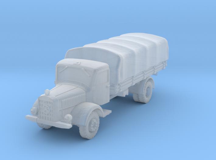 Mercedes L4500 (covered) A 1/144 3d printed
