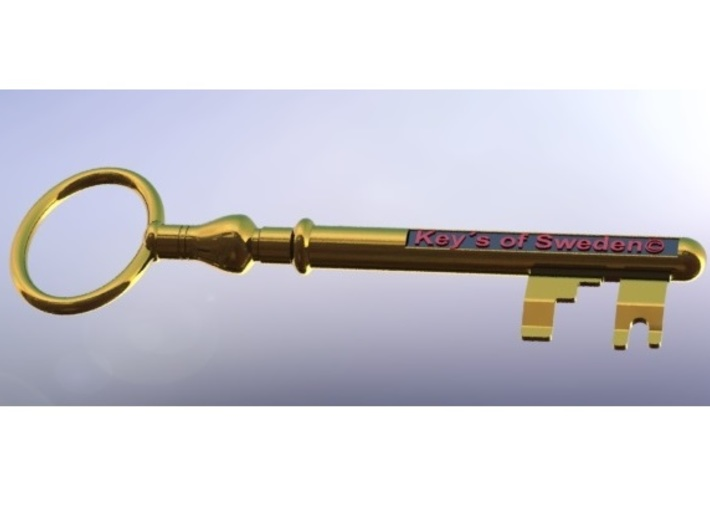 """Unlock your World with """"Key´s of Sweden!"""" 3d printed"""