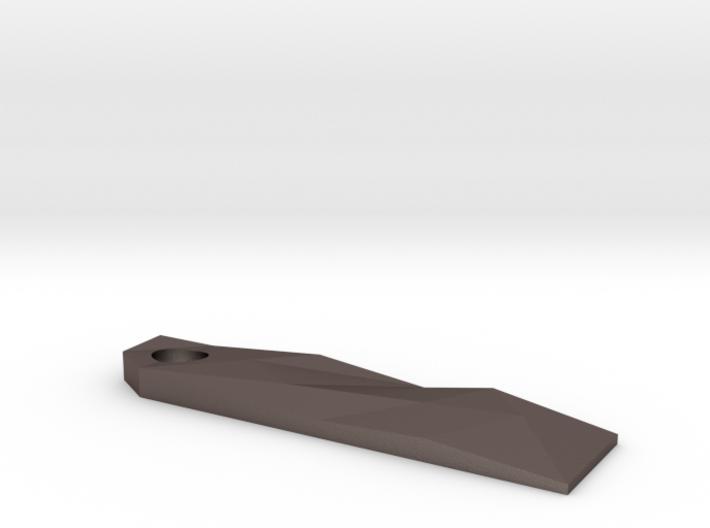 Fractal Keychain Prybar 3d printed