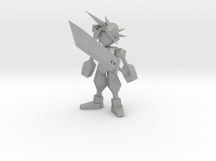 Final Fantasy 7 Cloud With Buster 3d printed
