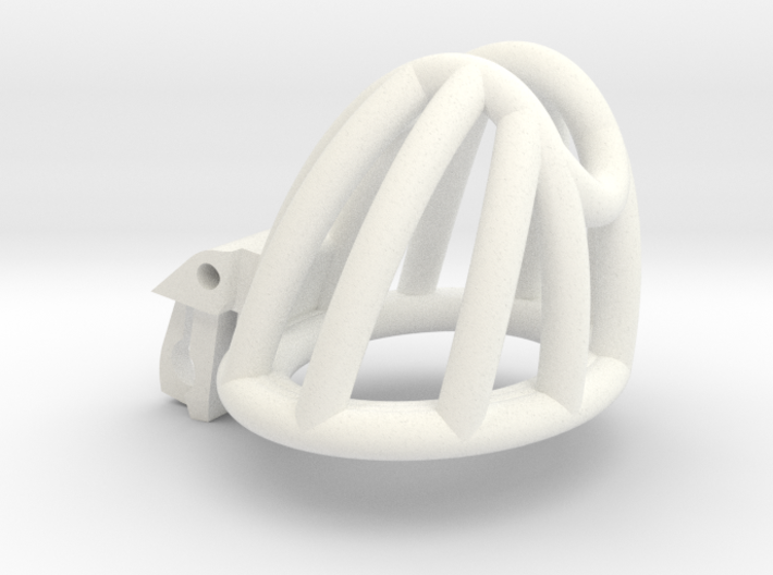 """The Cherry Keeper """"Headlock"""" Cage - Small Wide 3d printed"""