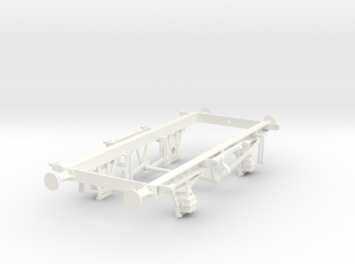 1/32 scale 16t mineral unbraked chassis 3d printed