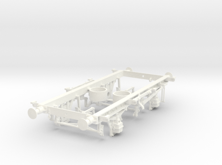 1/32 16t mineral wagon vacuum braked chassis 3d printed