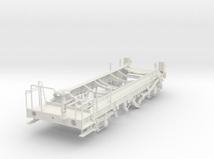 7mm Ferry tank wagon chassis 3d printed
