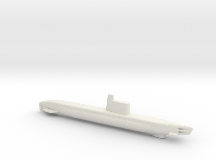 1/700 Scale USSR Quebec Submarine 3d printed