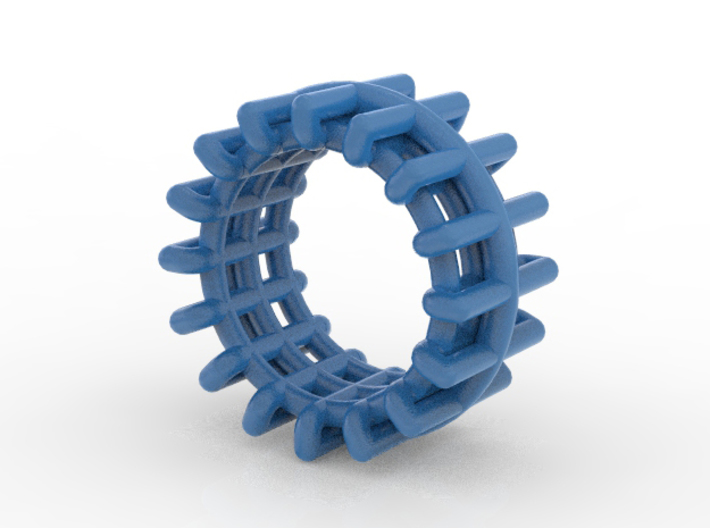 WIREFRAME 3d printed
