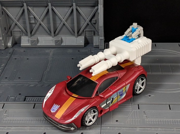 TF CW Dead End Car Cannon Seige Compatible 3d printed Titan Master/Primer Master Seating