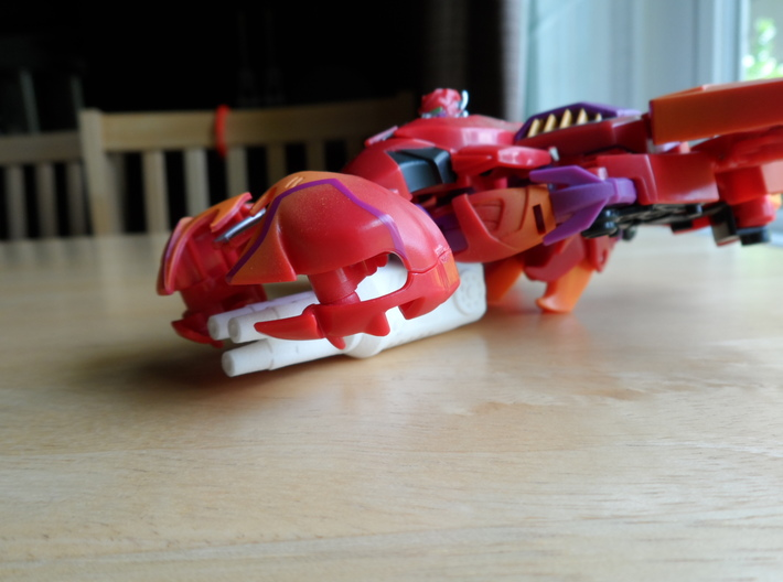 Sunlink - Rampage Rampage Rampage Cannon 3d printed