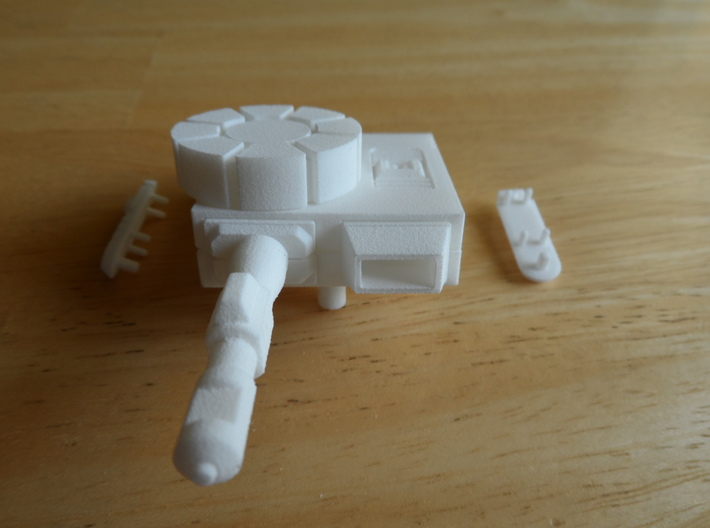 Sunlink - Turret of Iron and Fists 3d printed Install Step 10