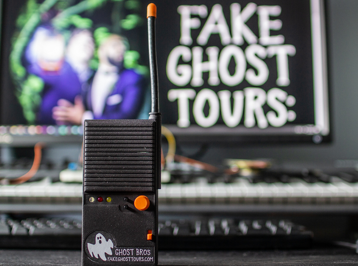 Ghost Bros Fake Walkie-Talkie Body 3d printed