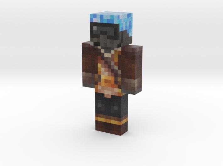 Captain Argon | Minecraft toy 3d printed