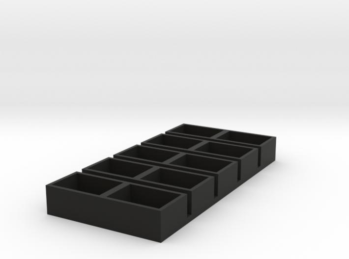 dual short 11x15x7 speaker box qty5 3d printed