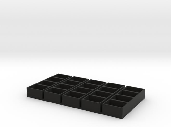 quad long 13x18x9.5 speaker box qty5 3d printed