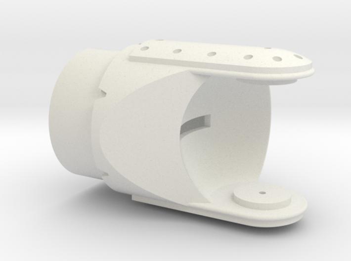 Litening III Optronic Ball Mount 3d printed 1/12 Litening III Optronic Head Mount