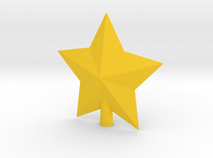 Arcade Star Tree Topper 3d printed