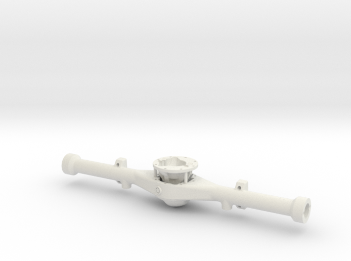 Hilux Rear Axle - wide spring track 3d printed
