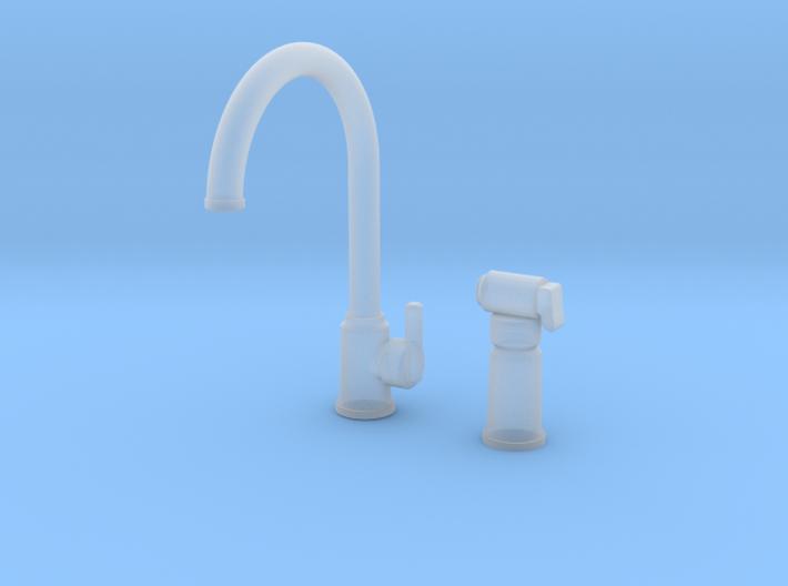 Bundle Contemp Sprayer & Single Faucet 3d printed