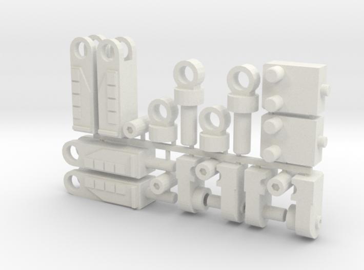 Chicken Leg Upgrade Kit 3d printed