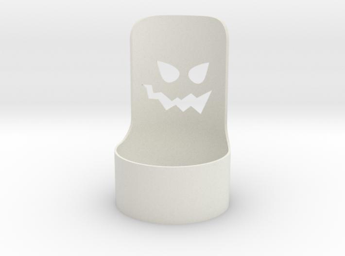 halloween tealight demon 3d printed